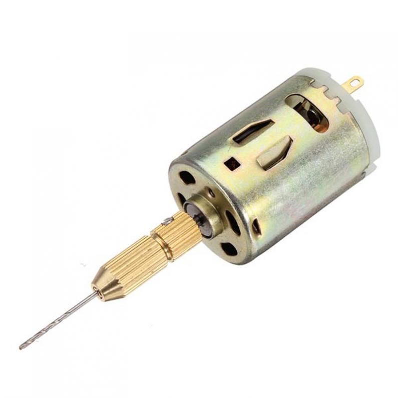 Nouveau 12 V 500mA Mini Moteur Micro BRICOLAGE Électrique Perceuse À Main PCB Perceuse à colonne pour le Forage PCB Conseil