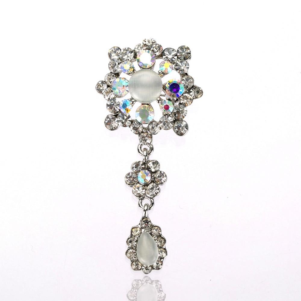 Une Paire Nœud Noir Victorien strass cristal mariage nuptiale Shoe Clips