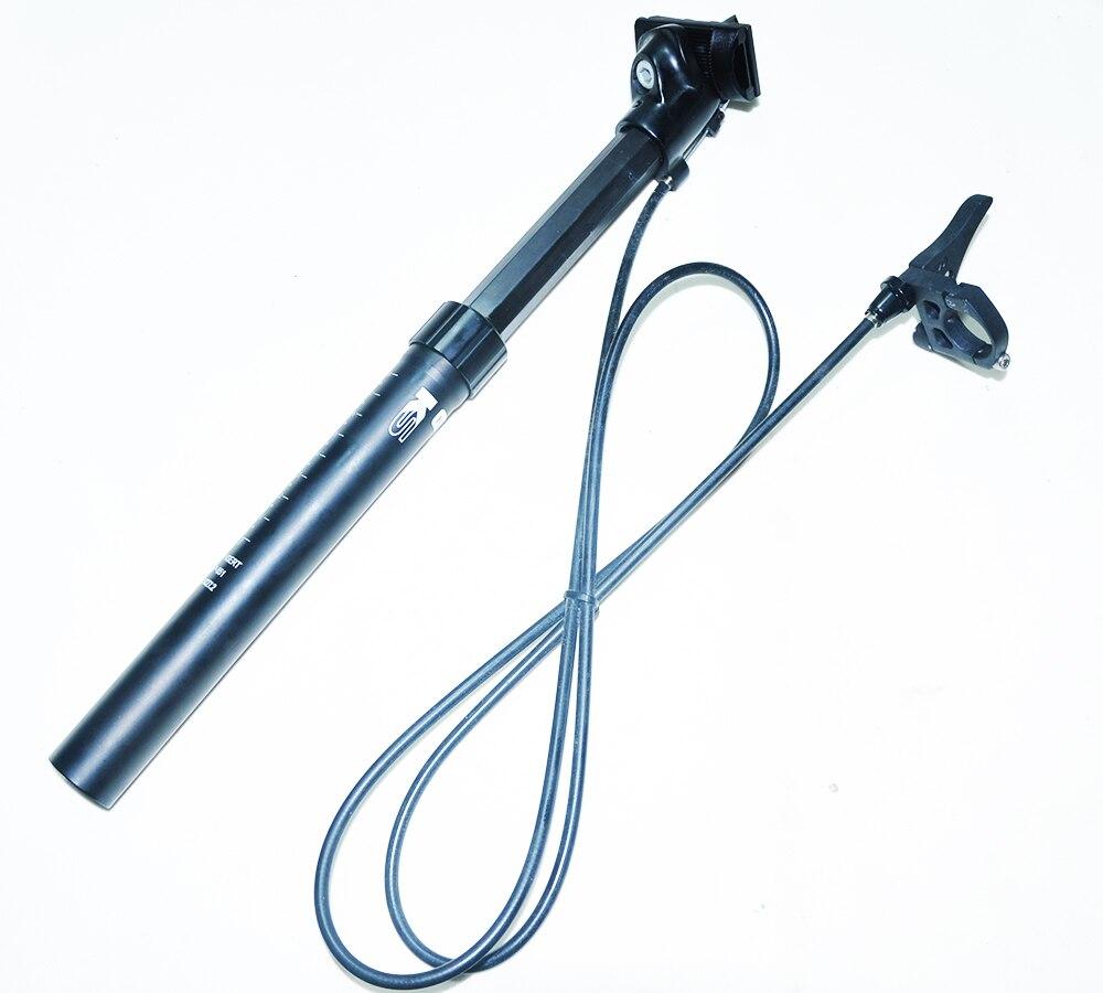 KSP-851 à distance siège à suspension post réglable En alliage D'aluminium 27.2mm siège de vélo poste