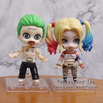 Escuadrón de suicidio Harley Quinn 672/Joker 671 PVC figura de acción de juguete de modelos coleccionables