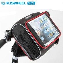 ROSWHEEL Cycling Handlebar Bag iPad Flatbed Bicycle Bags Bike Folding A