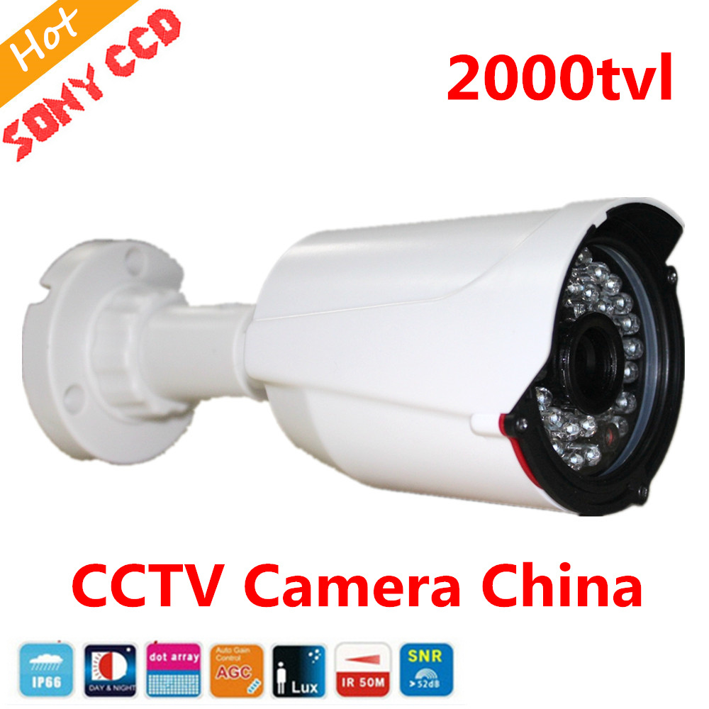 HD CCTV Camera Waterproof IP66 with Night vision CCTV Security Camera Home Protection IR distance 50m Freeship advanced 128gb cctv camera 50 meters night vision waterproof housing