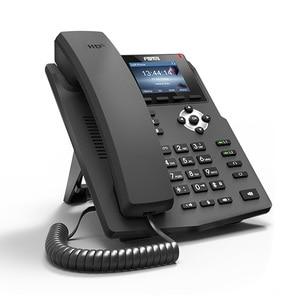 Image 5 - Fanvil IP Phone X3S Desktop Wall mount Phone 2 SIP Lines With Color Screen HD Voice POE Enabled Headphone Smart Deskphone