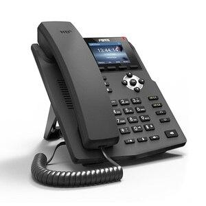 Image 5 - Teléfono Fanvil IP X3S, teléfono de sobremesa con montaje en pared, 2 líneas SIP con pantalla a Color, auriculares habilitados para POE por voz HD, teléfono de sobremesa inteligente