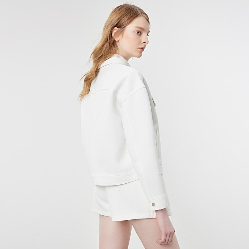 Bootyjeans Blanc Décontracté Gris Supérieure Femmes Femme De Lâche Vêtements Qualité 2017 Poitrine Unique Conception Vestes Courte f1qxrfw