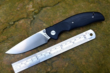 YSTART JIN02 Ножи карман складные ножи D2 атласная лезвие оси Системы G10 ручка 4 цвета охотничьи ножи выживания Открытый Инструменты