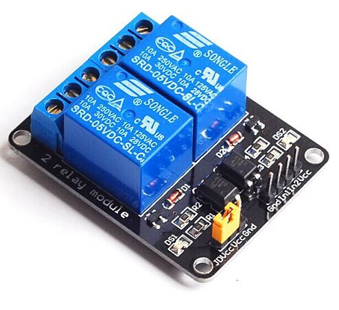 NEW 5V 2 Channel Relay Module Shield For arduino ARM PIC AVR DSP Electronic With Optocoupler