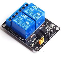 NEW 5V 2-Channel Relay Module Shield For arduino ARM PIC AVR DSP Electronic With Optocoupler