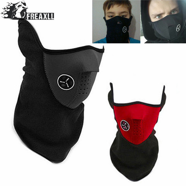 High Quality Motorcycle Face Mask Cover Fleece Unisex Ski Snow Moto Cycling Warm Winter Neck Guard Scarf Warm Protecting Maske