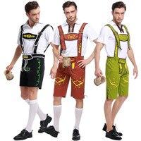 Takerlama Adult Halloween Costumes German Beer Costume Adult Oktoberfest Beer Festival Costume Mens Carnival Cosplay Costumes