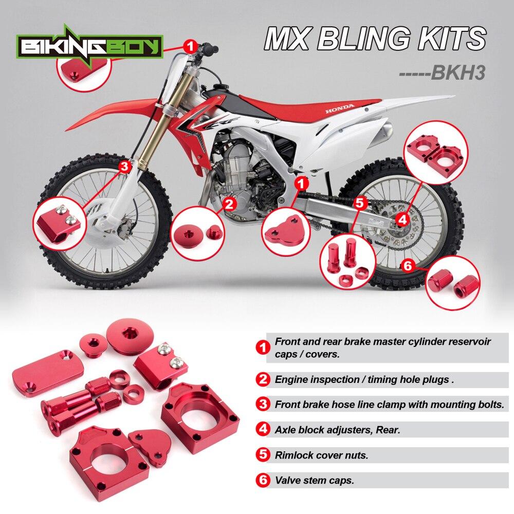 Bikingboy Mx Motocross Bling Kits For Honda Crf 450 R 02