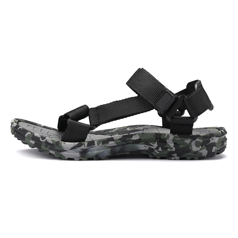 Mens Fashion Beach Sandals Big Size Camo Slippers For Men Student Casual Sandal Summer zapatos hombre 39-48