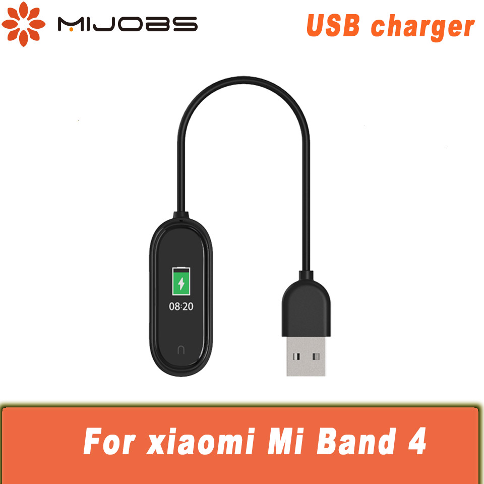 USB Charging For Xiaomi Mi Band 4 Chargers Dock Cable Replacement Smart Wristband Cord Charger Adapter For Mi Band 4 Accessories
