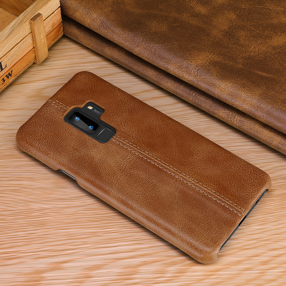 Image 5 - Genuine Leather Case For Samsung Galaxy S10 S9 S8 Plus S10e Slim Full Body Non Slip Resistant Cover Cases for Samsung Note 9 8-in Fitted Cases from Cellphones & Telecommunications