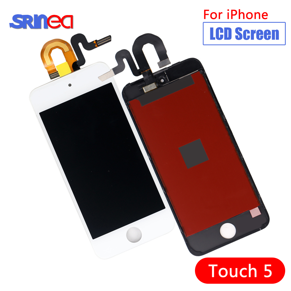 AAA+ For Ipod Touch 5 5th LCD Display+Touch Screen Panel Digitizer Assembly LCD Screen For Ipod 5 5 Th Screen No Dead Pixels