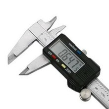 Cheapest prices 1 PC Hot Stainless 6″ 150 mm Digital Vernier Caliper Micrometer Guage Widescreen Electronic Accurately Measuring VEP40 T50
