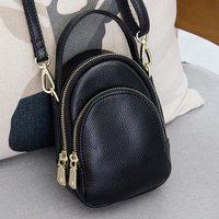 MEIGARDASS Brand Genuine Leather Women's For Casual Trend Small Messenger Bags Cowhide shopping Handbags Lady Shoulder bag 277 L