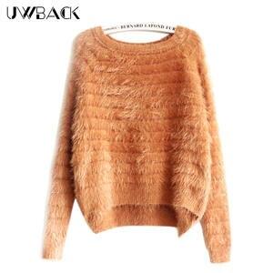Najlepsza wartość Mohair Fluffy Sweaters świetne oferty na