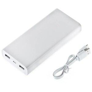 Image 5 - מקורי 20000mAh שיאו mi כוח בנק 2C 2 דרך מהיר טעינה QC3.0 mi Powerbanks כפולה USB יציאות חיצוני סוללה עבור חכם מכשיר