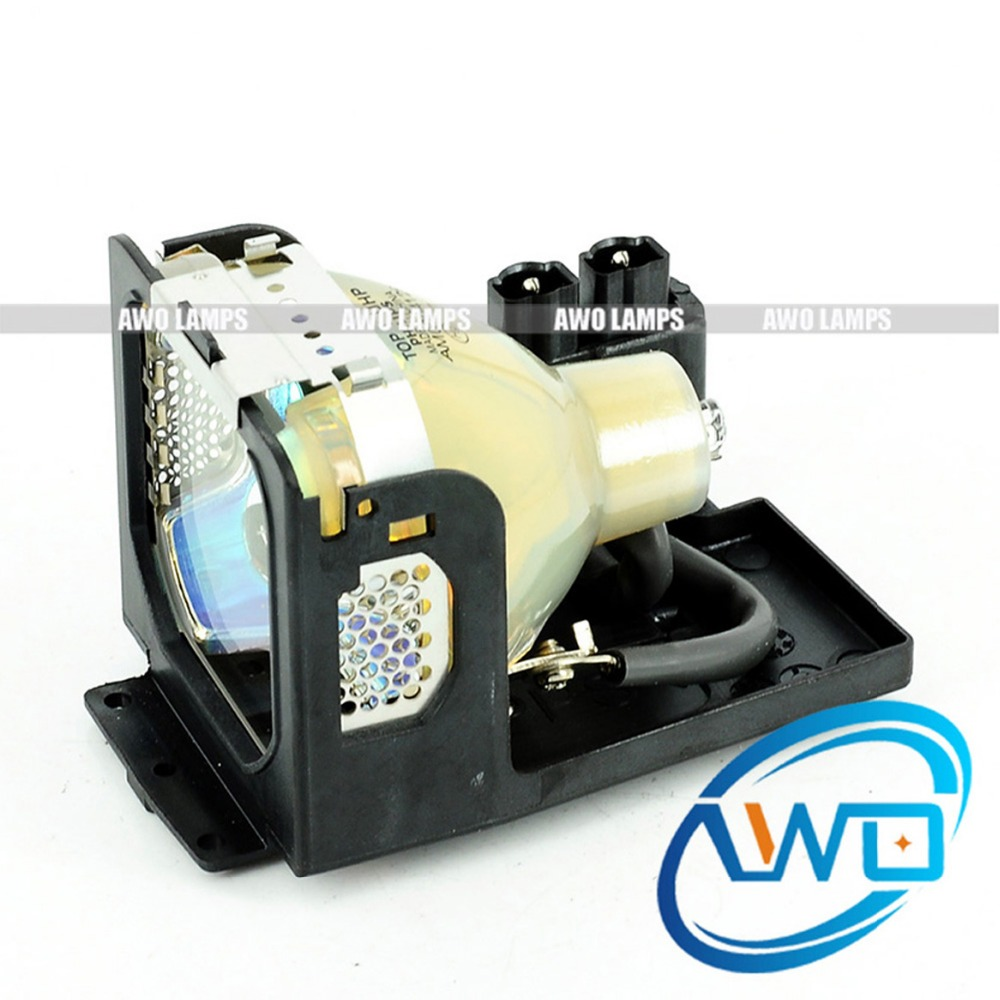 AWO Original Projector Lamp LV-LP14 with Housing for CANON LV-S2 Projector 2000hours Life time Shippment within 48 hours pureglare original projector lamp for canon lv lp24 0942b001aa with housing