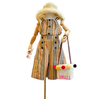 Conjunto de ropa para niños Mihkalev, conjuntos de verano 2020 para niñas, conjuntos de ropa para niños, tops con tirantes y pantalones, chándal infantil