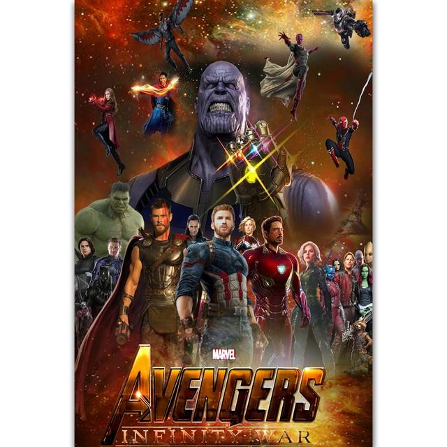 mq3383 hot new marvel movie avengers infinity war 2018 thanos