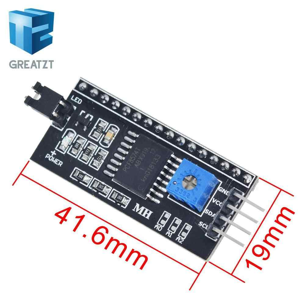 GREATZT 1 pièces IIC/I2C/Interface LCD1602 2004 LCD Plaque D'adaptation pour Arduino