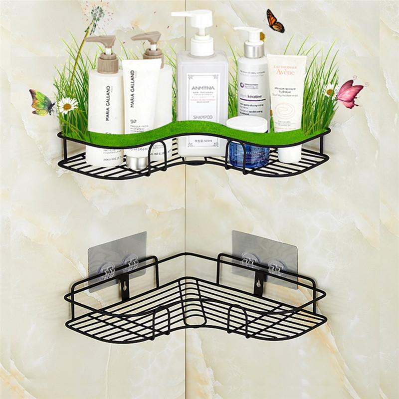 Bathroom Accessories.Bathroom Accessories Punch Free Corner Bathroom Shelf Bathroom