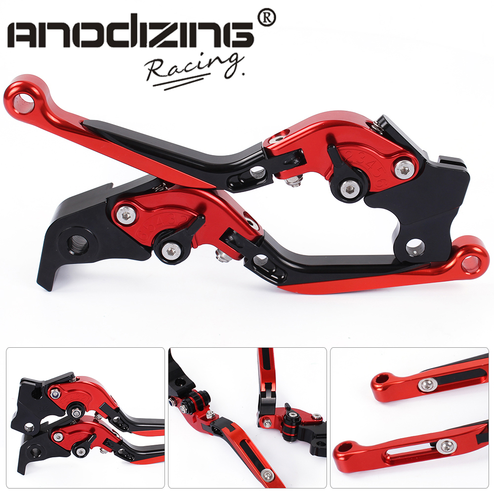 D-01/D-82 Adjustable CNC 3D Extendable Folding Brake Clutch Levers For DUCATI      Scrambler Cafe Racer    2017 billet alu folding adjustable brake clutch levers for motoguzzi griso 850 breva 1100 norge 1200 06 2013 07 08 1200 sport stelvio