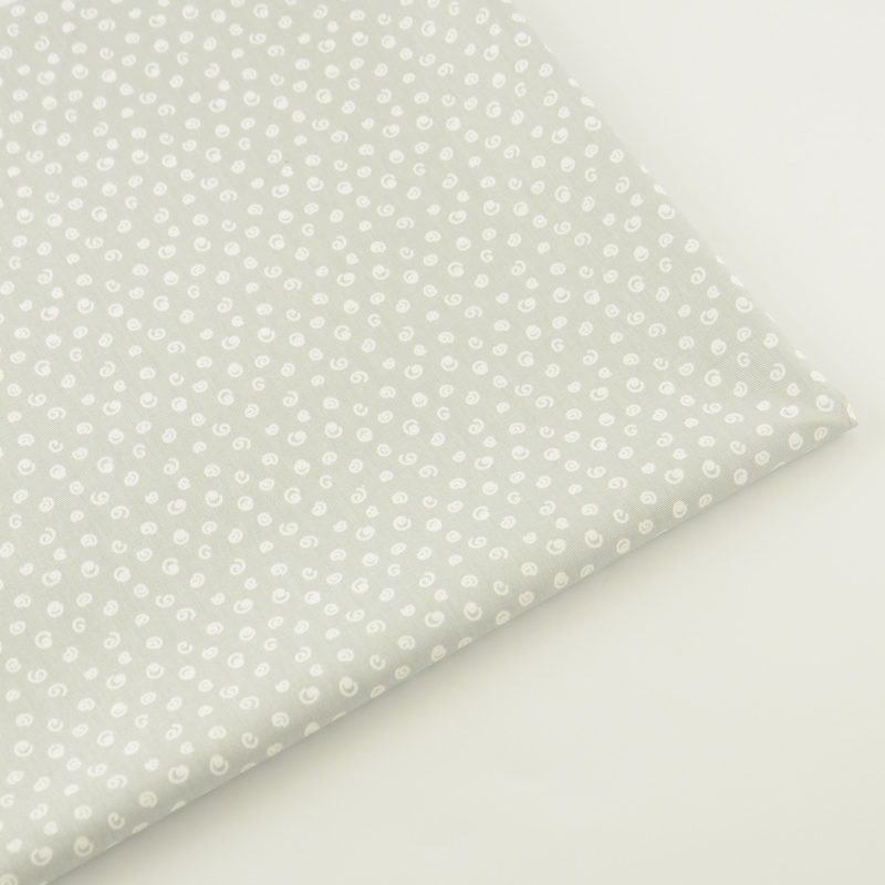 Booksew 100% хлопок Ткань Ремесло Швейные ткань домашнего текстиля лоскутное серый Tecido постельное белье лоскутное украшения куклы см