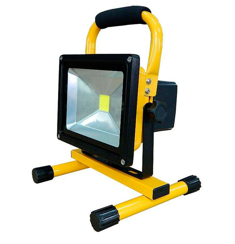 ФОТО 5W 10W 20W 30W portable rechargeable floodlight led work light emergency spotlight charge flood lamp for Car Traveling Camping