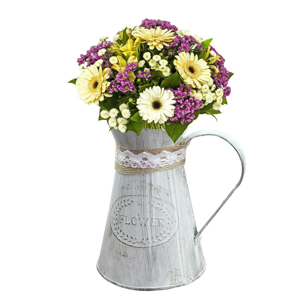 de armazenamento simulado jardim vaso de flores