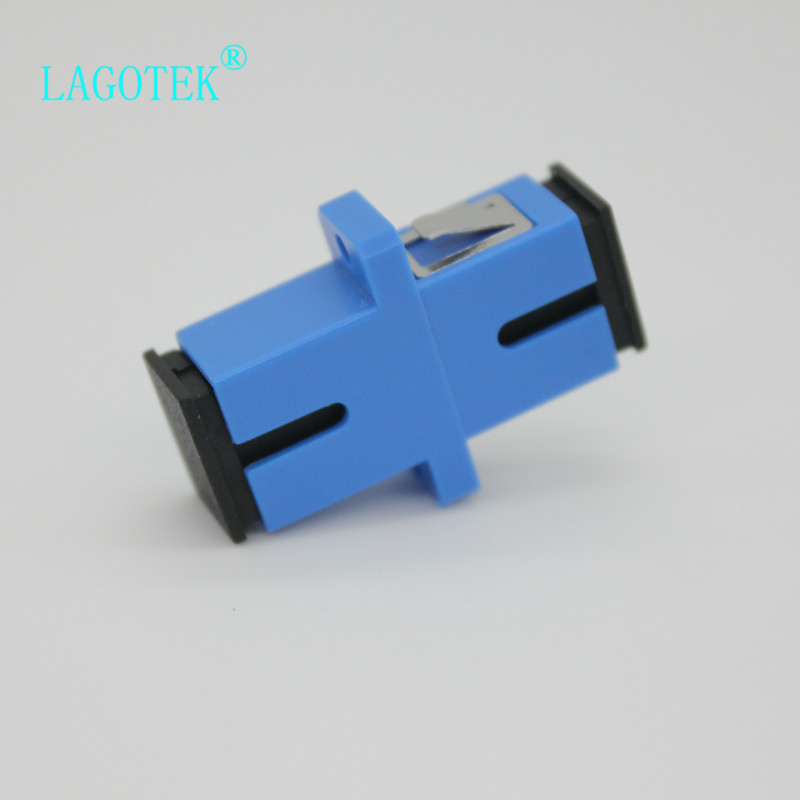 Image 4 - 50/100/200/500pcs  SC UPC Simplex Single mode Fiber optic Adapter SC Optical fiber coupler SC UPC Fiber flange SC connector-in Fiber Optic Equipments from Cellphones & Telecommunications