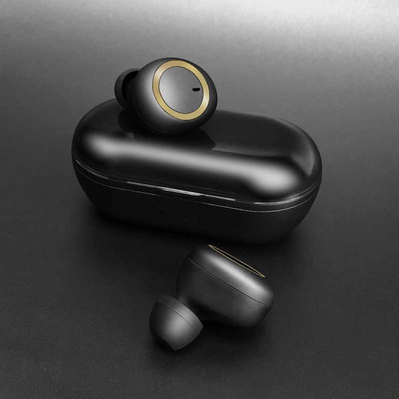 Oryginalne TWS słuchawki 5.0 3D Stereo bezprzewodowy zestaw słuchawkowy bluetooth z podwójnym słuchawki sportowe redukcja szumów Mini z ładowania