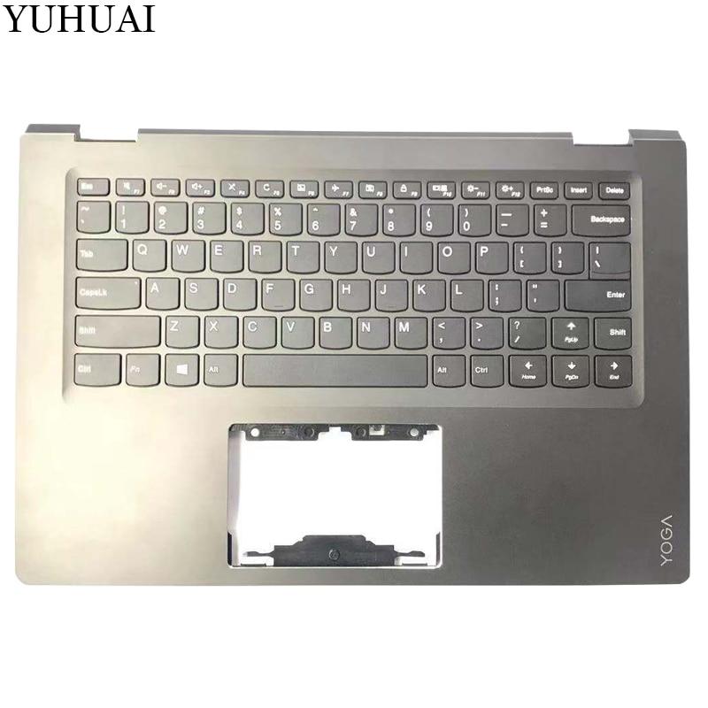 NEW US keyboard FOR LENOVO Yoga 510 14 Yoga 510 14IKB Flex 4 1470 US laptop