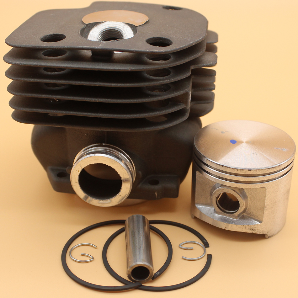 50mm Cylinder Piston Rings Kit For HUSQVARNA CHAINSAW 365 371 372 372XP 362 371K JONSERED 2065 2071 2165 2171 Nikasil Plated