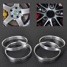 DWCX 4 шт. в партии, новая Алюминий концентратор кольца | 72,6mm машина ступица до 74,1 мм, диаметр колеса | ID 72,56 | OD 74 для BMW