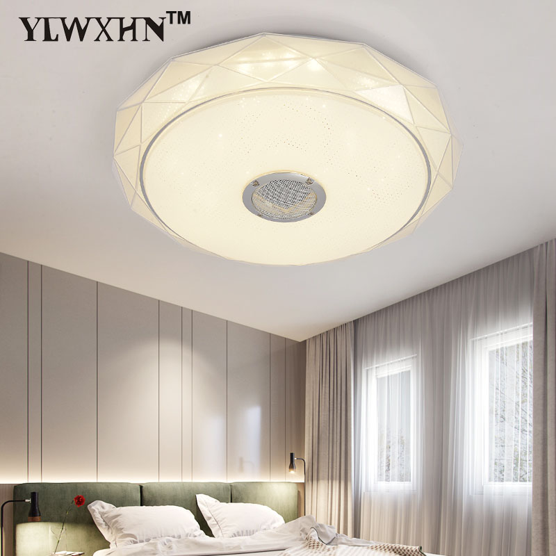 2017 New Ceiling Light Fixtures Flush Mounting With Bluetooth