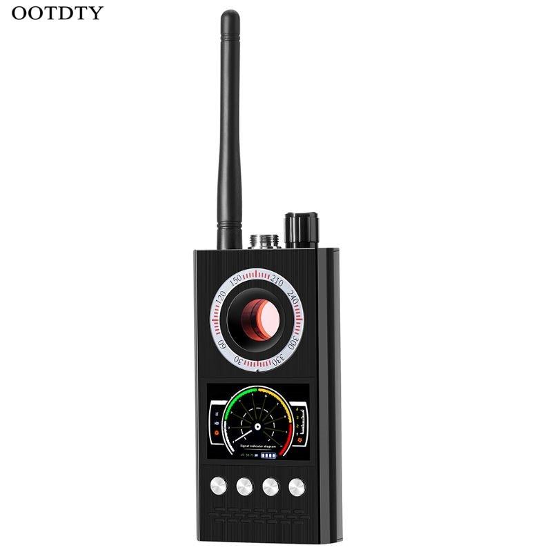 OOTDTY détecteur Anti-espion RF caméra cachée détecteur Bug GPS sans fil Signal alarme Scanner K68