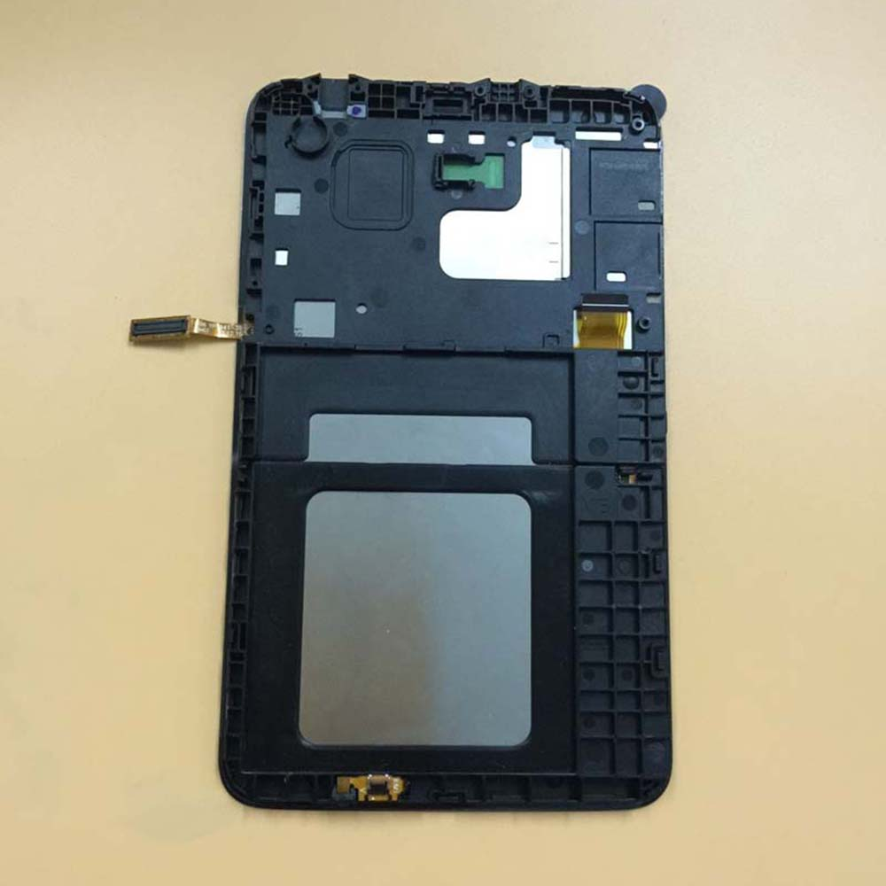 Black / White For Samsung GALAXY Tab 3 Lite SM T113 T116 Touch Screen Sensor Digitizer Glass + LCD Display Panel With Frame
