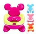 Nuevo Diseño de Niño plegable portable llevar Asiento Del Inodoro inodoro orinal bebé Niños Cómodos de Dibujos Animados Portátil