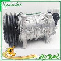 A/C Compressor Cooling Pump PV2 12V or 24V Zexel TM16 TM15 HD for Universal freezer truck Mini Bus Freightliner FS65 FC70 FL50