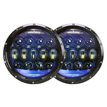 NIC LIGHT ジープラングラーのため 130 ワットヘッドライト 7 インチラウンド Led プロジェクターヘッドライトハマー lada niva 4 × 4 トラックスズキサムライ
