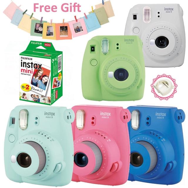 b79cd4a1d5432 Fujifilm Instax Mini 9 Câmera de Filme + Fuji 20 Folhas Instantâneas Mini 8  Filmes +