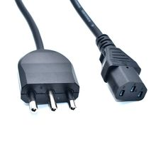 Italy AC Power Cord 10A Plug to C13 output For PC Note book Supply