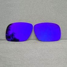 9852c6d351e34 Púrpura espejo polarizado lentes de reemplazo para Twoface gafas de sol  marco 100% UVA y UVB