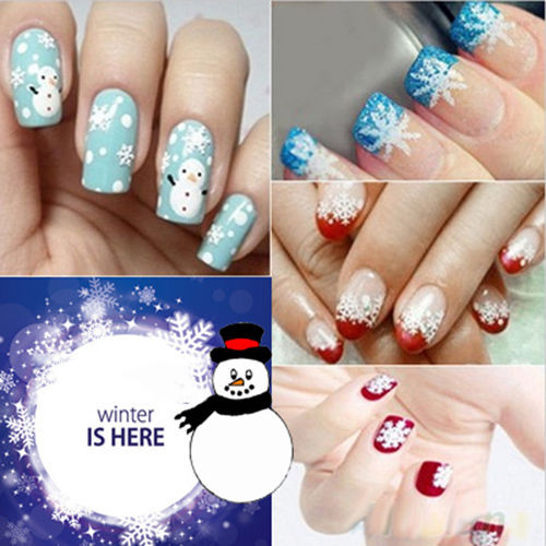 hot diy glitter snow flakes christmas