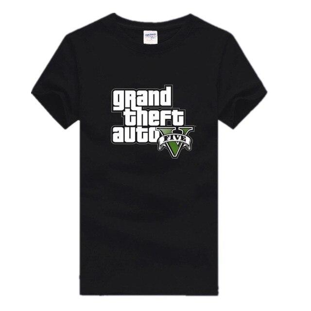 Grand Theft Auto 3D XBOX  Gta 5 T Shirt Mens T Shirt Print Cotton Fitness Adolescent Tshirt San Andreas Summer T Shirts For Men