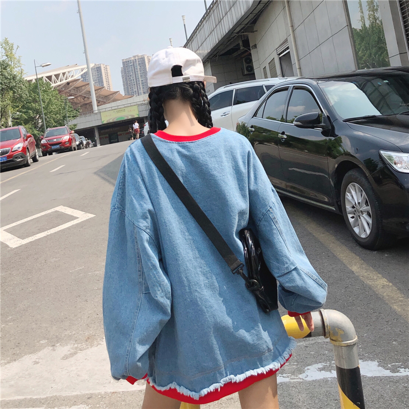 Harajuku japanese oversized hoodie o-neck streetwear plus size sweatshirt women pullover kpop clothes casual women sweatshirts
