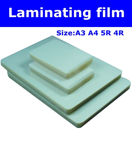 4R A3 A4 size waterproof Plastic sealing Laminator film used to seal photos and documents name card